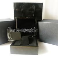 2021 Hight 품질 Rmbox 블랙 Leathe WatchBox 도매 망 여성 인증서 선물 종이 가방과 원래 상자 TimeZoneWatch