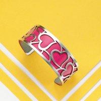 Legenstar BraceletsBangles For Women amor do coração de aço inoxidável Georgettes Couro DIY Bijoux Manchette Femme Pulseiras 2019