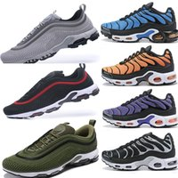 Mens TN 97 Plus Sneakers Shoes Classic Top 97 OG Running Sho...