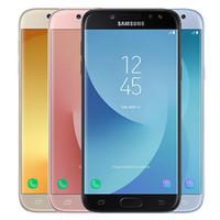 Оригинальный Samsung восстановленный Galaxy J5 Pro 2017 J530F 5.2 inch Octa Core 16GB ROM 13MP 4G LTE Android мобильный телефон бесплатно DHL Оптовая продажа 10 шт.