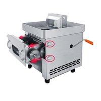 maison petite cuisine viande Machine à couper 850W de porc manuel de boeuf poisson électrique coupeur de viande de bureau viande Slicer Dicing machine