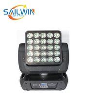 Super Beam Stage Light 5x5 Matrix Blinder Infinite 25x10W RGBW4IN1 LED Moving Head Light