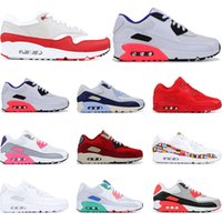 Wholesale running shoes for men Infrared University Red Sout...