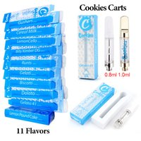 Cookies Cartridges Vape Cartridge Packaging Glass Tank 0. 8ml...
