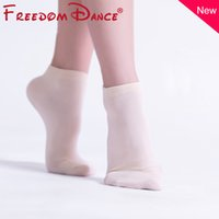 Brand New Basic Dance Socks for Women Children Quality Professional Ballet Dance Socks Cotton Short Yoga Fitness Sport