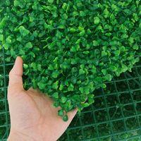 25cmx25cm Artificial Grass Grama Gramado de Simulação de Gramadas Paisagismo Decoração de Parede Milão Grama Grama Plantas De Parede Falso Painel Pano De Fundo Decoração