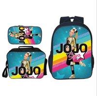 3 Girls Bags School Students Super Siwa Printing Pcs Set Children Casual Book JOJO Primary Backpack Inikk