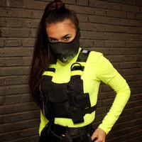 reflektierenden Mode Chest Rig Bag Gürteltasche Unisex Tactical Vest Rig Hip Hop Taschen Street Functional Brusttasche Nylon Fanny Pack Männer