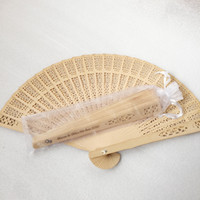 Peronalized Wooden Hand Fans Wedding Return Gift 50th 60th Anniversary Souvenir Birthday Favors Wholesale Free Shipping
