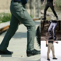 Uomini Militar Tactical merci all'aperto antivento Pantaloni combattimento Swat Army formazione pantaloni pantaloni sportivi per caccia d'escursione