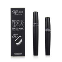 Mascara fibre 3D Long Black Lash Extension des cils Maquillage des yeux Waterproof Extension Cils 3D Fibre Silk Lash Mascara Outils RRA998
