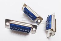 ذات نوعية جيدة D الفرعية 15PIN DB-15 ؟؟ اللحيم موصل مقبس التوصيل للكمبيوتر استخدام / شحن مجاني / 50PCS