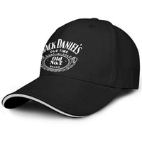 Womens Mens Flat- along Adjustable JACK DANIELS LOGO Hip Hop ...