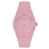 Marca reloj de pulsera de cuarzo para mujer niña con triángulo con signo de interrogación y correa de silicona con estilo relojes GS20