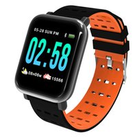 A6 Smart Watch Men Women Waterproof Clock Heart Rate Monitor...