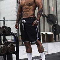 Muscleguys Summer Fitness Palestre Shorts Powerhouse Uomo Workout Felpe Pantaloni sportivi in ​​cotone Uomo Casual Bodybuilding Shorts
