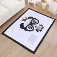 ins European and American four seasons baby playing carpet c...