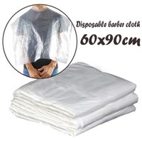 50 100pc lot Wholesale Disposable Hair Cutting Capes Washing...