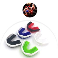 Hot Boxing Mouth Tooth Guard Silicone Mouthguard Gum Shield Calcio Basket Muay Thai Gym Fight Sport Sicurezza Denti Protector