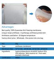 Almofadas de protecção do congelador de gordura para a membrana anticongelante de crioipólise com fibra não tecida de alta qualidade em muitas opções de tamanho