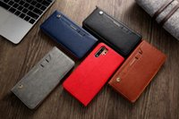 Luxury Flip Cover Pu Leather Holder Phone Case For Huawei P30 P20 Mate 20 pro Wallet Card Slots stand Casing