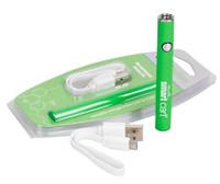 SmartCart Akku 450mAh vorheizen Variable Voltage Vape Pen Batterie-intelligente Carts Bottom-USB-Lade Vapor für Thick Ölpatrone
