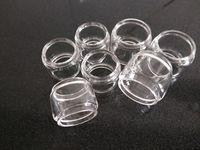 Augvape Emme için genişletilmiş Ampul yağ erkek cam tüp RTA Merlin Eleaf Ello 4.0 ml Aspire Cleito 120 pro Advken manta ...