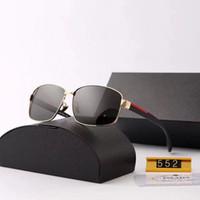 نظارات رجالي مصمم النظارات الشمسية العلامة التجارية رجل حملق نظارات UV400 P رسالة 552 5 الخيار اللون مع صندوق