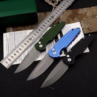 새로운 최고 품질 OEM TR 자동 전술 접는 나이프 야외 캠핑 자기 방어 마이크 호 150-10 생존 칼 154cm 스틸 포켓 풍뎅이의 칼