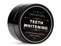 Teeth Whitening Pó Nature Bamboo carvão ativado Sorriso Pó descontaminação Dente amarelo Stain Bamboo dentífrico