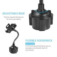 Car Mount Package Mobile Cell With Holder Universal For Adjustable 1 Cradles 2 Compatible Gooseneck Stand Cup Retail Phone Smartpho Rjrij