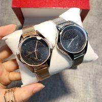 Модные женские часы женские часы с леопардовым циферблатом Нержавеющая сталь Желтое золото Браслет Наручные часы Роскошные часы Nice Casual Новые женские часы
