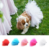 Pet Tutu Skirt for Dogs and Cats Birthday Parties Event Dres...
