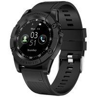 SW98 Akıllı İzle Erkekler Destek SIM Kart Adımsayar Kamera, Bluetooth Smartwatch İçin Android 380 mAh Büyük Pil 1.54 İnç