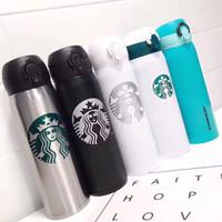 Последние новые 16Z Starbucks из нержавеющей стали вакуумной колбы из нержавеющей стали 11 в стиле сопровождающего чашки кофейной чашки Бесплатная доставка