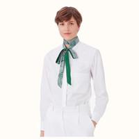 Sciarpa di seta sciarpa di disegno di nuova marca multifunzionale Magro per le donne adattano testa Sciarpe per le donne 200 * 3 centimetri Bag Nastri Female Belt