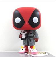 Bedtime Deadpool # 327 Funko Pop Dormire Deadpool in Robe gioco Marvel Vinyl Figure