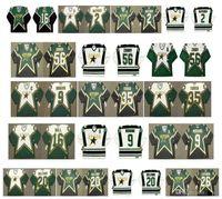 Vintage Dallas Estrellas Jersey 56 Sergei Zubov 35 Marty Turco 9 Mike Modano 16 Brett Hull 2 Derian Hatcher 20 Ed Belfour Lehtinen Retro Hockey