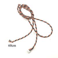 10pcs 60cm Connector Cable For Spektrum JR Satellite Receivers AR6200 AR6210 AR7000 AR8000 AR9020 AR12120 SPM9645 RC Receiver