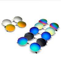 Alta qualidade designer de moda óculos de sol óculos clássicos retro pilotos espelho espelho óculos de sol retro ao ar livre sapo óculos de sol D011