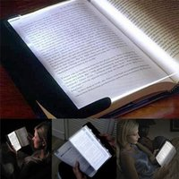 Flat Plate LED Book Light Reading Indoor Lighting Portable Travel Panel Dormitory Desk Lamp Eye for Students Bedroom