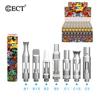 Original ECT kenjoy B1 Pyrex glass vape cartridges 510 threa...