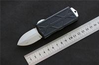 """Mini New estilo 5,6"""" faca faca High-End Qualidade de alumínio CNC Stonewash D2 Carteira lâmina, ao ar livre sobrevivência acampar Auto-defens facas ferramenta EDC"""