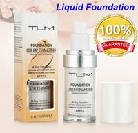 TLM Flawless couleur changeante ton chaud peau teint base maquillage base visage nu hydratant couverture liquide correcteur pour femmes filles SPF15 bea12
