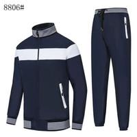 Kostenloser Versand NEUER Männer Hoodies-Sweatshirts Sportswear Man Jacke Hosen Jogging Jogger Sets Turtleneck-Sport-Trainingsnazug Sweat Suits