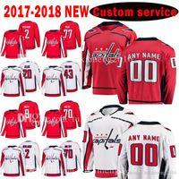 2020 Washington Capitals Custom New 77 t.j. Oshie 20 Lars Eller 43 Tom Wilson Jersey 2 Matt Niskanen 9 Dmitry ORLOV 70 Braden Holtby Trikots