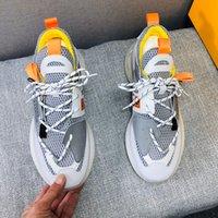 Verano patrón de color zapatos de diseñador ocasional contraste zapatillas deportivas para hombre diseño retro clásico de lujo de malla transpirable nuevos productos calientes 38-45