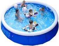 Swim Pool Clip Net Dicke Pad Sommer Rahmen Pool Home Inflat Schwimmen Pool Für Kind Erwachsene Familie Badewanne Badewanne Outdoor Kinder
