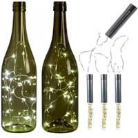 Led Bakır Tel Şişe Tıpa Lamba Düğün Kutlama Noel Süslemeleri Lambalar Dize Hediye Yüksek Kalite Yeni 5 8wx3 J1 Geldi