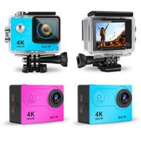 """كاميرا EKEN H9 عمل الترا HD 4K / 30fps تجهيز واي فاي 2.0 """"170D تحت الماء للماء خوذة تسجيل فيديو كاميرات الرياضة كاميرا أفضل هدية"""